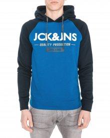 Mikina Jack & Jones | Modrá | Pánské | S