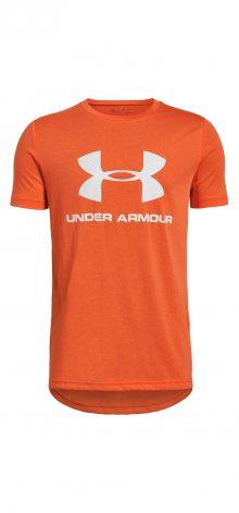 Sportstyle Triko dětské Under Armour | Oranžová | Chlapecké | L