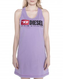 T-Silk Šaty Diesel | Fialová | Dámské | XXS