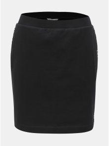 Černá sukně s potiskem na bocích Calvin Klein Jeans