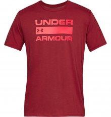 Team Issue Wordmark Triko Under Armour | Červená | Pánské | M