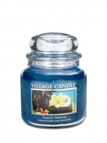 Village Candle Vonná svíčka ve skle, Víkend v tropech - Tropical Getaway 16 oz\n					\n