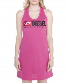 T-Silk Šaty Diesel | Růžová | Dámské | XXS