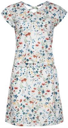 Smashed Lemon Dámské krátké šaty White 18401/01 XXL