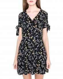 Lotus Šaty Vero Moda | Černá | Dámské | XS