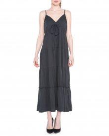 Šaty Replay   Černá Šedá   Dámské   XS