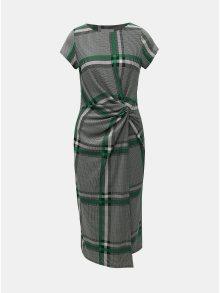 Šedé kostkované šaty Lily & Franc by Dorothy Perkins