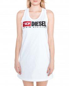 T-Silk Šaty Diesel | Bílá | Dámské | XXS