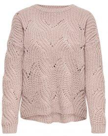 ONLY Dámský svetr Havana L/S Pullover Knt Noos Shadow Gray S