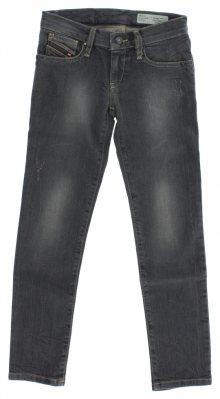Jeans dětské Diesel   Šedá   Dívčí   8 let