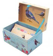 Santoro dekorativní adresář Watercolour Birds