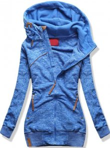 Modrá mikina D335