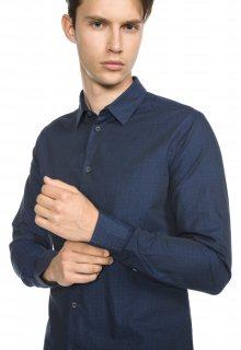 Košile Armani Jeans   Modrá   Pánské   L