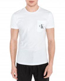 Triko Calvin Klein   Bílá   Pánské   XL