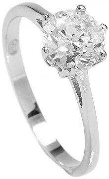 Brilio Silver Stříbrný zásnubní prsten 5119085 52 mm