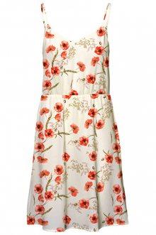 Vero Moda Dámské šaty Saga Singlet Short Dress Snow White XS