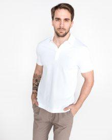 Polo triko Lacoste | Bílá | Pánské | L