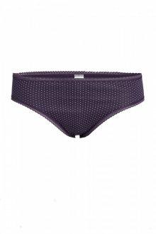 Klasické kalhotky Con-ta 9600 - barva:CON273/fialová s puntíky, velikost:38