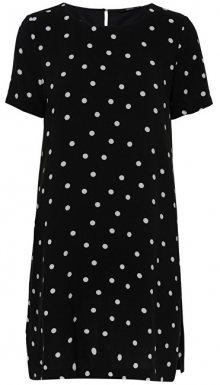 ONLY Dámské šaty First Ss Dress Wvn Black 34