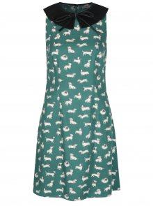 Zelené dámské vzorované šaty Cath Kidston