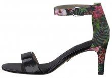 Tamaris Dámské sandále 1-1-28315-22-043 Blk Pat/Flower 37
