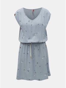 Světle modré šaty s kapsami Ragwear Carolina