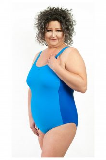 Dámské jednodílné plavky 3301 blue
