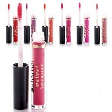 Makeup Revolution Sametový lesk na rty (Salvation Velvet Lip Lacquer) 2 ml Rebel