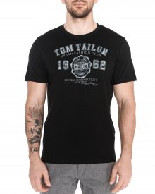 Triko Tom Tailor | Černá | Pánské | L