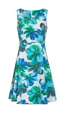 Smashed Lemon Dámské šaty White/Blue 19078 S