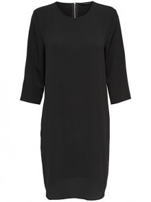 ONLY Dámské šaty Vic 3/4 Solid Dress Noos Wvn Black 38
