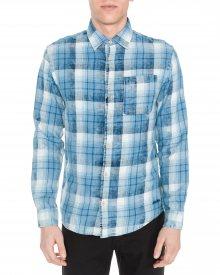 Knox Košile Jack & Jones   Modrá   Pánské   L