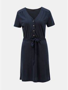 Tmavě modré šaty VERO MODA Jess