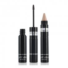 Guerlain Řasenka na obočí s rozjasňovačem La Petite Robe Noire Brow Duo (The Brow Mascara & Highlighter Long-Wear) 5,5 g 01 Light