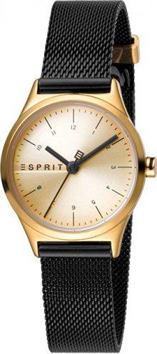 Esprit Essential Mini Gold Black Mesh ES1L052M0105