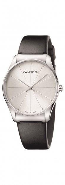 Classic Too Hodinky Calvin Klein   Černá Stříbrná   Pánské   UNI