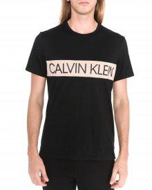 Triko na spaní Calvin Klein | Černá | Pánské | S