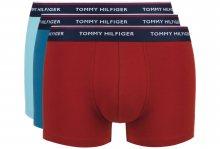 Boxerky 3 ks Tommy Hilfiger | Modrá Červená | Pánské | S