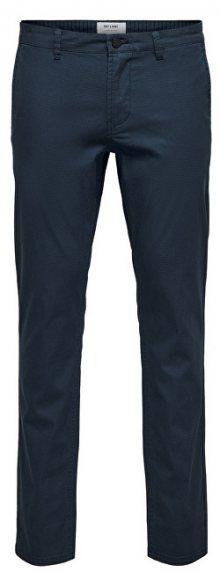 ONLY&SONS Pánské kalhoty Tarp Chino Aop Gd 2432 Bottoms Dress Blues 28/32