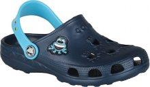 Coqui Dětské pantofle Little Frog Navy/Blue 8701-100-2118 23-24