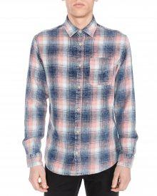 Knox Košile Jack & Jones | Modrá Růžová | Pánské | L