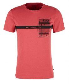 Q/S designed by Pánské triko 40.904.32.5310.4524 Coral Rose S