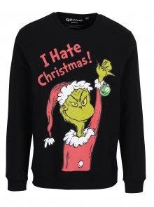 Černá mikina s vánočním motivem ONLY & SONS Grinch