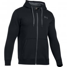 Under Armour Rival Fitted Full Zip černá L