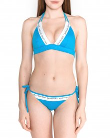 Vrchní díl plavek Calvin Klein   Modrá   Dámské   L