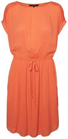 Vero Moda Dámské šaty Monica S/S Short Dress Emberglow XS