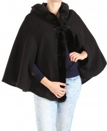 Dámský černý kabát New Look