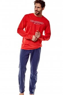 Pánské pyžamo 36203 Focus 33x red