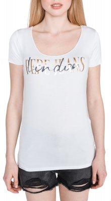 Mona Triko Pepe Jeans   Bílá   Dámské   S