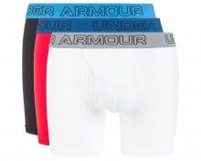 """Charged Cotton® Stretch 6"""" Boxerky 3 ks Under Armour   Modrá Červená Bílá   Pánské   L"""